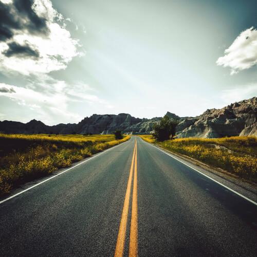Badlands-National-Park-Road