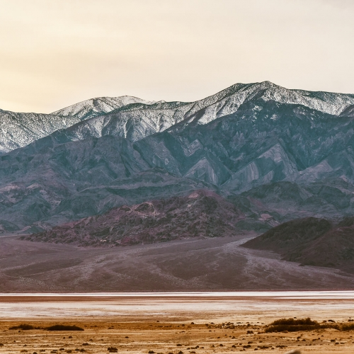 Death-Valley-National-Park-Faded-Mountain-Range