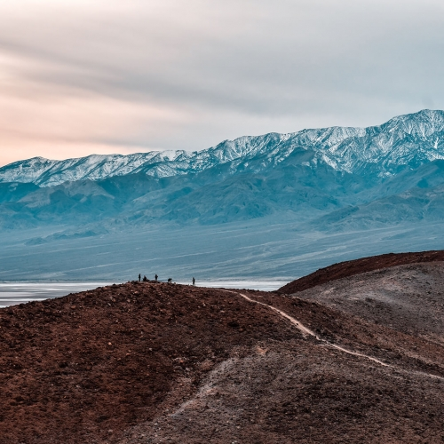 Death-Valley-Sunset-Mountain-Range