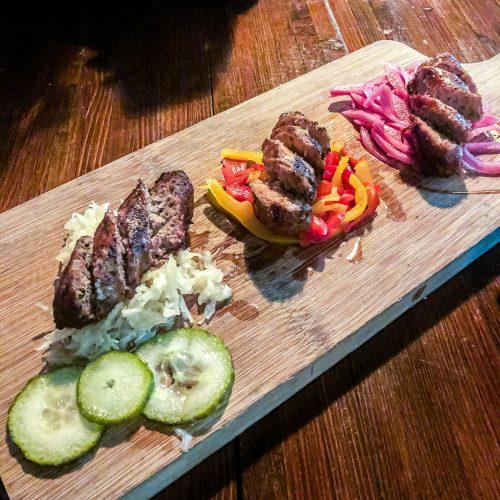 Sausage-Plate