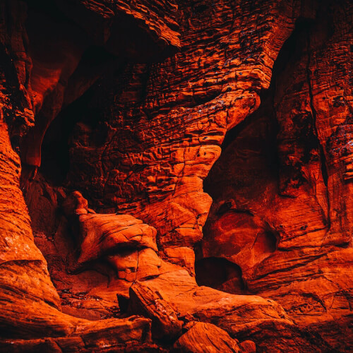Valley-of-Fire-Orange-Cavern